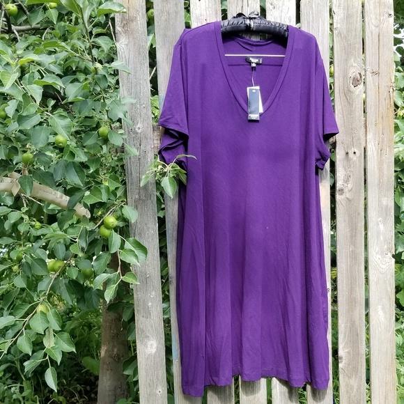 Premise Dresses & Skirts - NEW 3X Premise Purple Stretch Maxi Dress